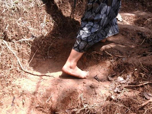 Aku candid kakinya! Ahahaaha (doc pribadi)