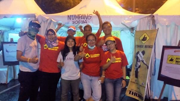 Hitchhiker Indonesia, Kompasianival 2015 (doc Wirawan/Titin)