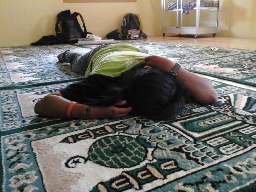 Anak bangor yang akhirnya tepar tidur juga. Hhhehehehe Doc pribadi