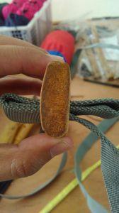 Bamboo Hammock Frame tampak samping. Doc Uttara_Ind