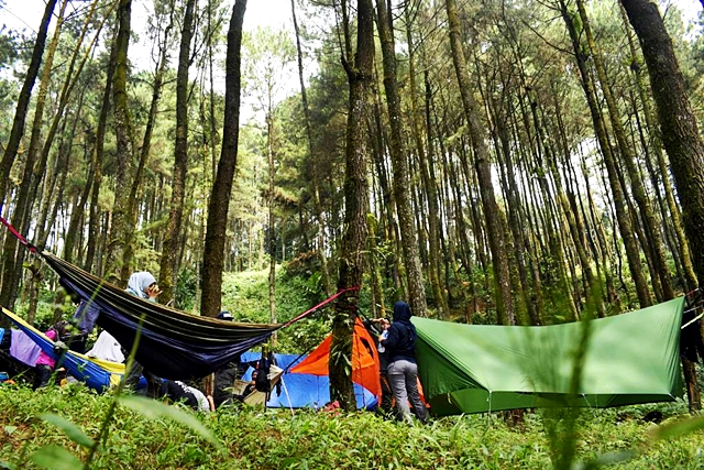 Hammock camp Cipeuteuy Doc and taken by Jessa