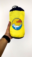 Parasut hammock bentuk tabung (packingannya). Doc Mas Bhayu