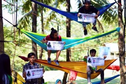 Edukasi Mini Hammock Tower Hammockers Bekasi Doc by @anggitinsave