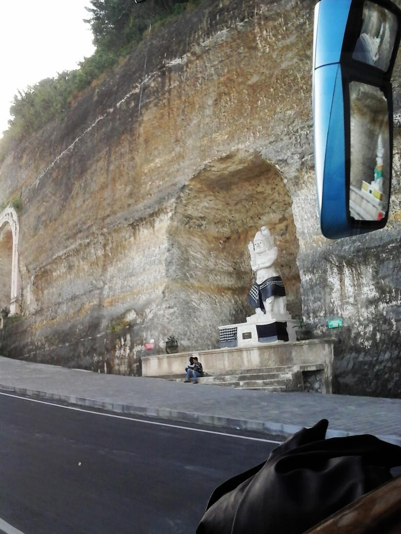 Patung dengan ketinggian 5 meter. Doc pribadi