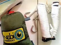 S-hook yang digunakan pada hammock. Doc pribadi
