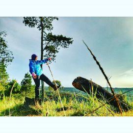 Spot foto setelah sunrise di Gunung Putri Lembang Doc Linda, taken by Haries