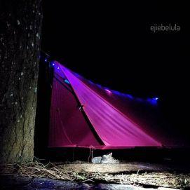 Bentuk winter/4 season. Bobok hammock udara dingin di Geger Bintang, Lembang, Bandung. Doc pribadi
