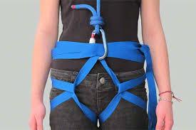 Webbing sebagai pengganti harness. Sumber:: Google
