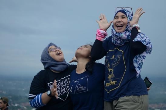 Stok gaya minim! :P Doc Suherman/Muntaha Syahroni