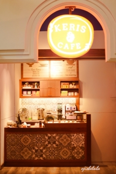 Keris Cafe yang berada satu gedung dengan Semarang Kreatif Gallery. Doc pribadi