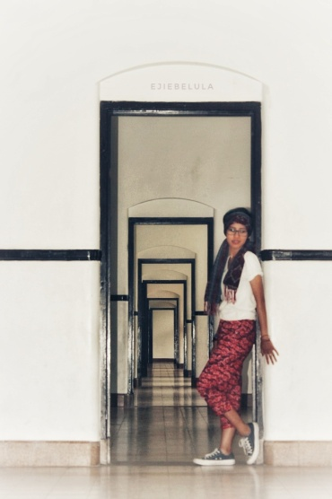 Alett dan lorong pintu.