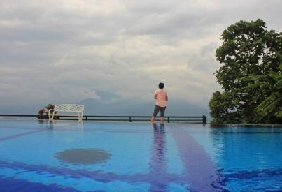 Spot kolam renang yang asik buat mengambil gambar. Doc pribadi, taken by Adnan.
